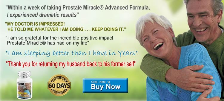 Prostate Miracle Advanced formula
